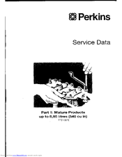 Perkins 6.3544 Series Manuals