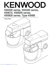 Kenwood KM615 Manuals