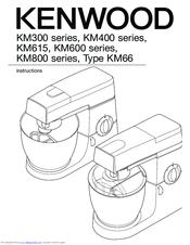 Kenwood KM615 Manuals