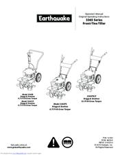 Earthquake MODEL 3365PS Manuals