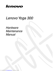 Lenovo Yoga 300 Manuals