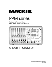 Mackie 406M Manuals