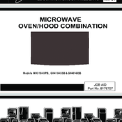 Whirlpool Microwave Hood Wiring Diagram Tj Mh3184xpb Manuals Service Manual 71 Pages Oven Combination