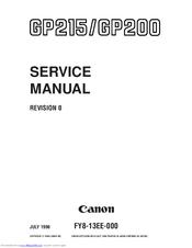 Canon GP200 Manuals