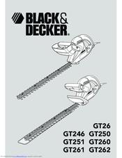 Black & Decker GT250 Manuals