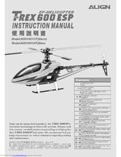Align T-REX 600ESP Manuals