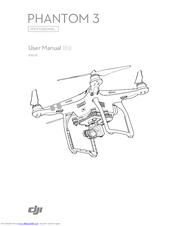 Dji PHANTOM 3 PROFESSIONAL Manuals