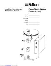 Fulton FB-L 015 Manuals