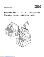 Ibm SurePOS 700 Series Manuals