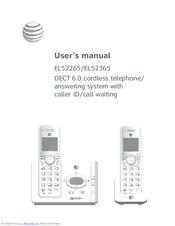 At&t EL52345 Manuals