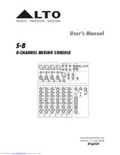 Lto S-8 Manuals