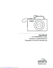 Canon S110 NIR Manuals