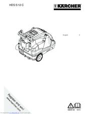 Karcher HDS 5/12 C Manuals
