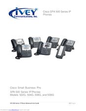 Cisco SPA 508G Manuals