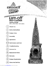 Bissell Lift-Off 35K3 Series Manuals