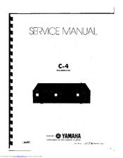 Yamaha C-4 Manuals