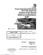 Cessna 172S Skyhawk Manuals