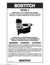 Bostitch IC60-1 Manuals
