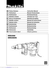Makita HR5000K Manuals
