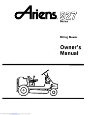 Ariens 927 Manuals