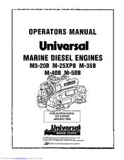 Universal M3-20B Manuals