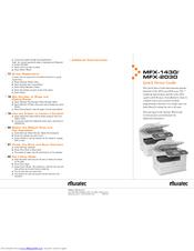 Muratec MFX-2030 Manuals
