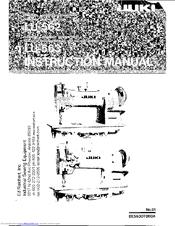 Juki LU-563 Manuals