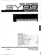 Yamaha SY99 Manuals