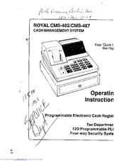 Royal CMS-487 Plus Manuals