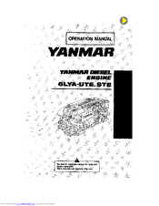 Yanmar 6LYA-STE Manuals