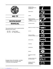 Mg TF Manuals
