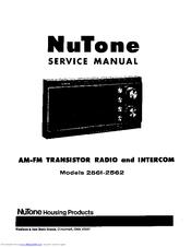 Nutone 2561 Manuals