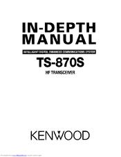 Kenwood TS-870S Manuals