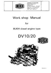 Bukh DV20 Manuals