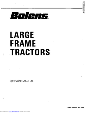 Bolens 2389 HT 23 Manuals