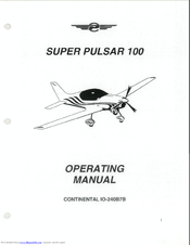 Pulsar Aircraft Corporation Super Pulsar 100 Manuals