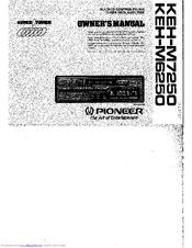 Pioneer KEH-M6250 Manuals