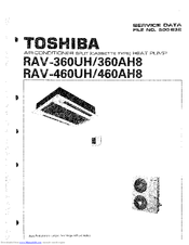 Toshiba RAV-360UH Manuals