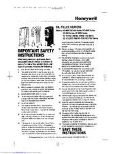 Honeywell hz-690c series Manuals