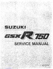 Suzuki 1987 GSX-R150 Manuals