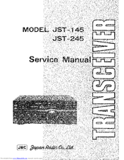Jrc JST-245 Manuals