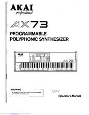 AKAI AX73 SERVICE MANUAL PDF