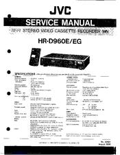 Jvc HR-D960E Manuals