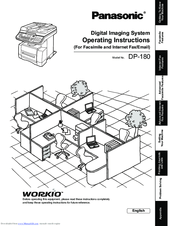 Panasonic DP-180 Manuals