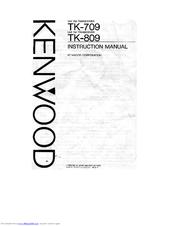Kenwood TK-709 Manuals