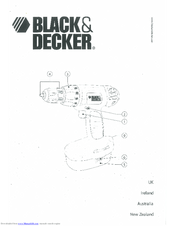 Black & Decker CD12C Manuals