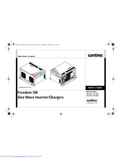 Xantrex Freedom SW 815-3012 Manuals
