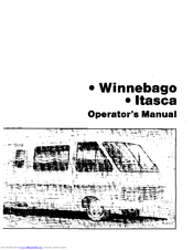 Winnebago 1984 Itasca Manuals