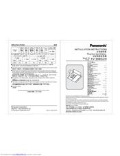Panasonic fv-30bg2h Manuals