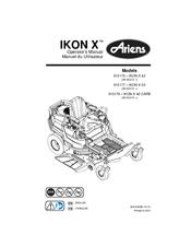 Ariens IKON X 52 Manuals